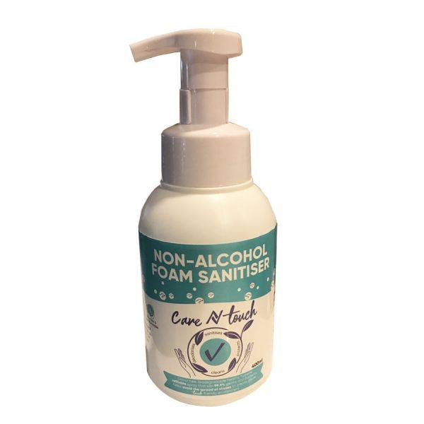 alcohol-free natural sanitiser