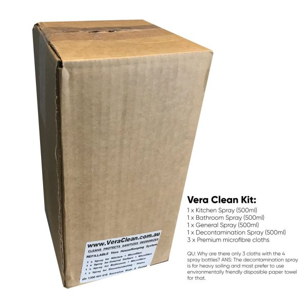packaging box for the clean kit